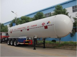 Export to africa 56m3 lpg gas tank,lpg tanker