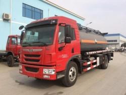 15000 liters FAW 4x2 chemical liquid truck