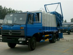 Dongfeng153 refuse compatctor truck