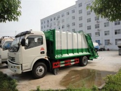 High quality 6-8m3 compactor garbage truck