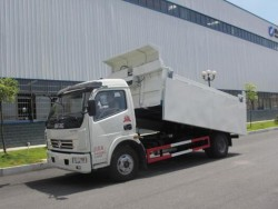 directly sales 5 tons capacity dump garbage truck