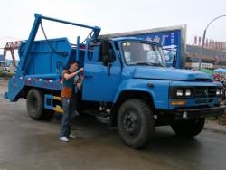 long head cab swing Arm Garbage Truck