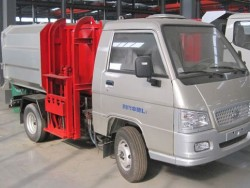 Foton mini 4m3 self-loading garbage truck