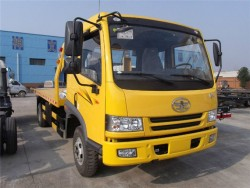 Faw 5ton wrecker truck