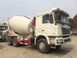 SHACMAN 8-12 cubic concrete mixer truck