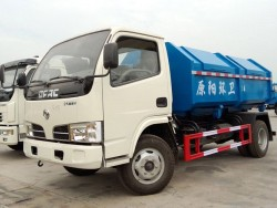 Dongfeng 4*2 hook lift garbage truck