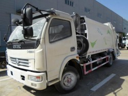 9-12tons DFAC 4*2 garbage compactor truck