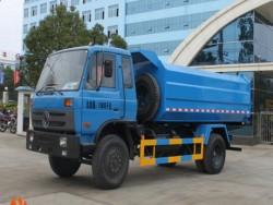 factory sale 12cbm hook lift garbage truck