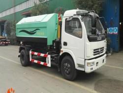 DongFeng 6-8 CBM Hook Arm type Garbage truck