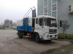 Dongfeng tianjin 4*2 15m3 docking garbage truck