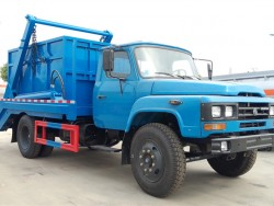 Dongfeng 140 4x2 arm type garbage truck