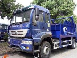 HOWO 4x2 Arm Type Garbage Truck