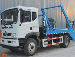 Dongfeng 180HP 7CBM Arm Type Garbage Truck