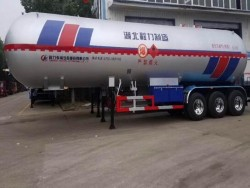3 axles 61.9cbm propane trailers
