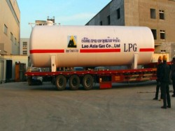 Factory producing 20m3 lpg tanker