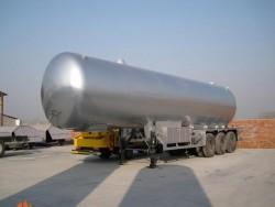 50000 liters 25ton lpg tanker trailer