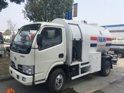1500 gallons mobile cooking gas station lpg gas tank truck