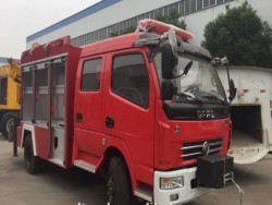 DongFeng double cabin hot-selling fire truck for rescue vehicles