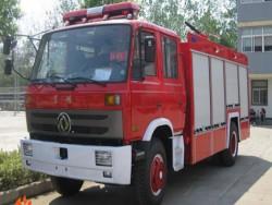 Dongfeng 4x2 190 HP foam fire truck