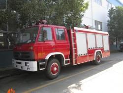 Euro3 4*2 190hp water foam fire fighting truck