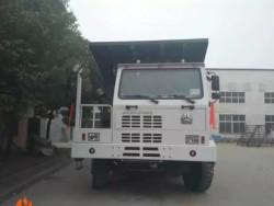 6x4 SINOTRUK MAX 70ton Mining Dumper Trucks