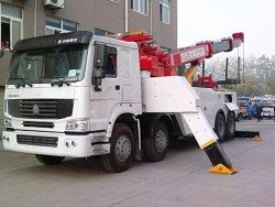sinotruck howo 8x4 HOWO 25 tons road wrecker tow truck
