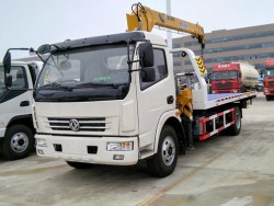 2-5 Tons Mini Dongfeng Road Wrecker Tow Trucks