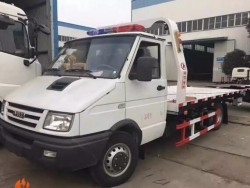 IVECO slide bed tow truck wrecker 3tons tow truck