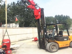 NEW design Hydraulic Small Mobile Floor Crane with loading 3