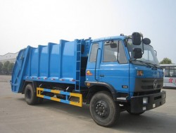 Dongfeng 12cbm compressed garbage truck
