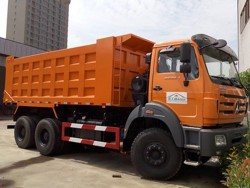 North-Benz brand 6X4 Dump Truck tipper dumper