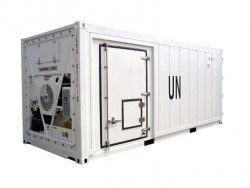 New design 20ft 40ft open side door reefer container