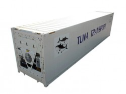 CSC -60 celsius super cold storage reefer shipping container
