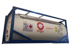 China supplier 20 ft T50 LPG tank container